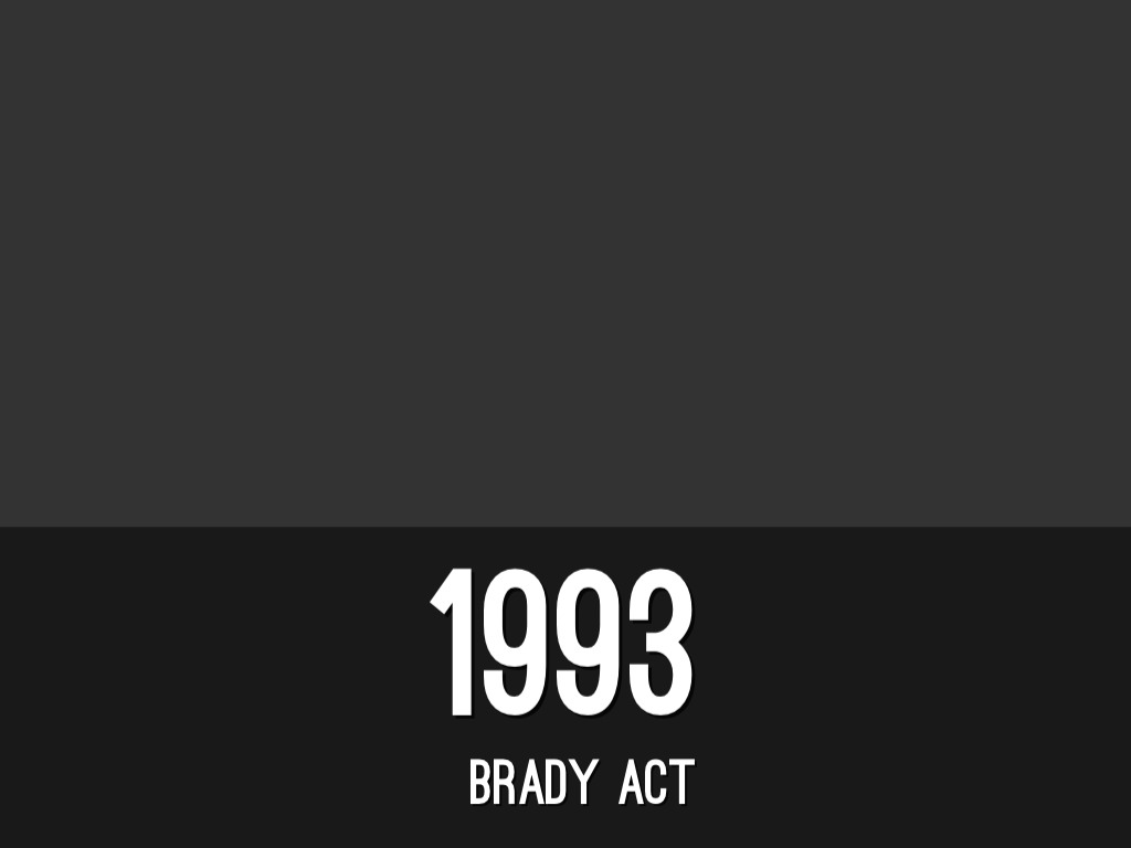 the brady act Brady law, in full brady handgun violence prevention act, us legislation, adopted in 1993, that imposed an interim five-day waiting period for the purchase of a handgun until 1998, when federally.