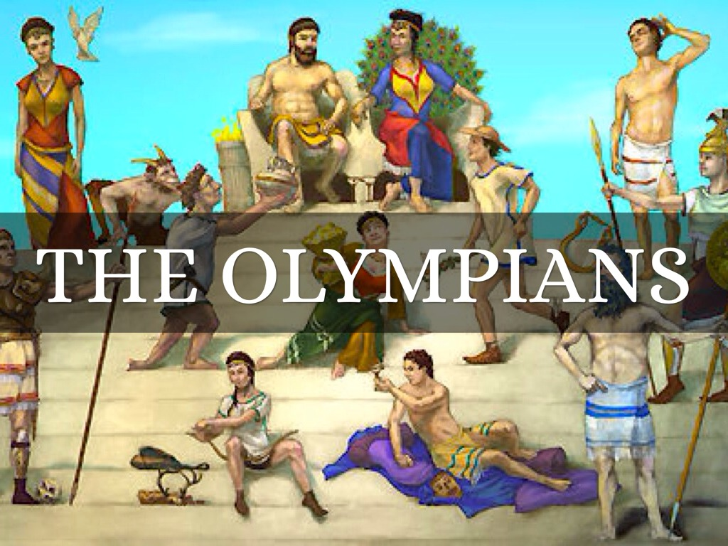 Olympians By Nick Dillon