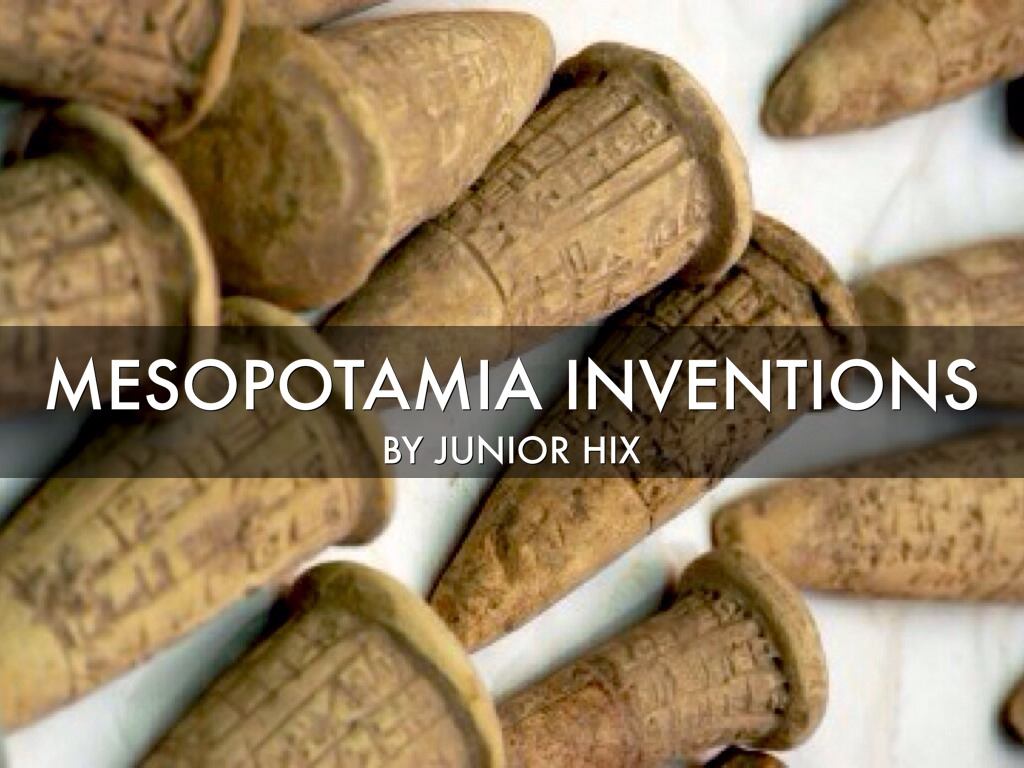 Mesopotamia Inventions by juniorhix