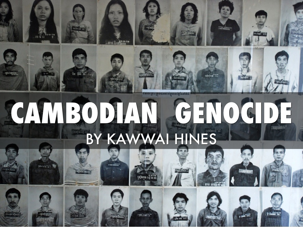 cambodian genocide Cambodia 1975 - before the genocide - the genocide - after the genocide - witness - issues genocides namibia armenia ukraine the holocaust cambodia guatemala rwanda bosnia the genocide under pol pot's leadership, and within days of overthrowing the government, the khmer rouge embarked on an organised mission: they ruthlessly imposed an.
