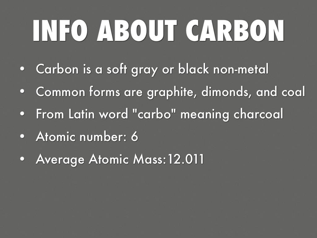 Carbon Atom By Erik Rose