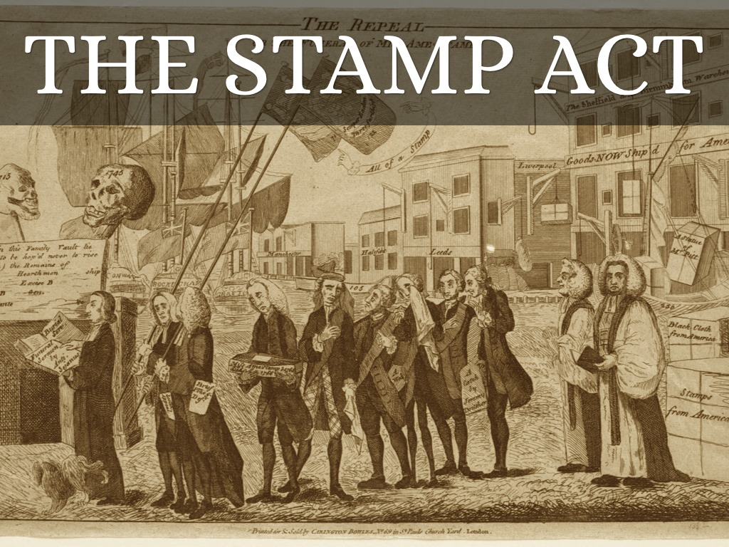 the stamo act The stamp act congress was another step in the process of attempted common problem-solving, which had most recently been tried in the albany congress in 1754 that earlier meeting had been held at the urging of royal officials, but the later one was strictly a colonial affair.