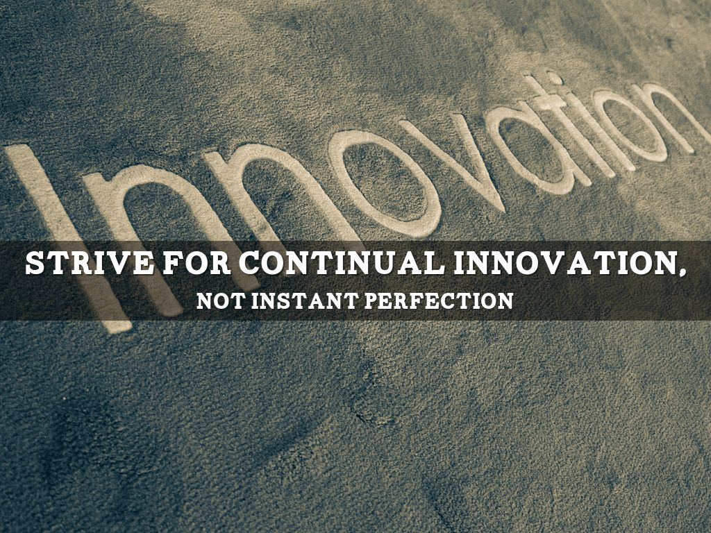 Image result for continual innovation