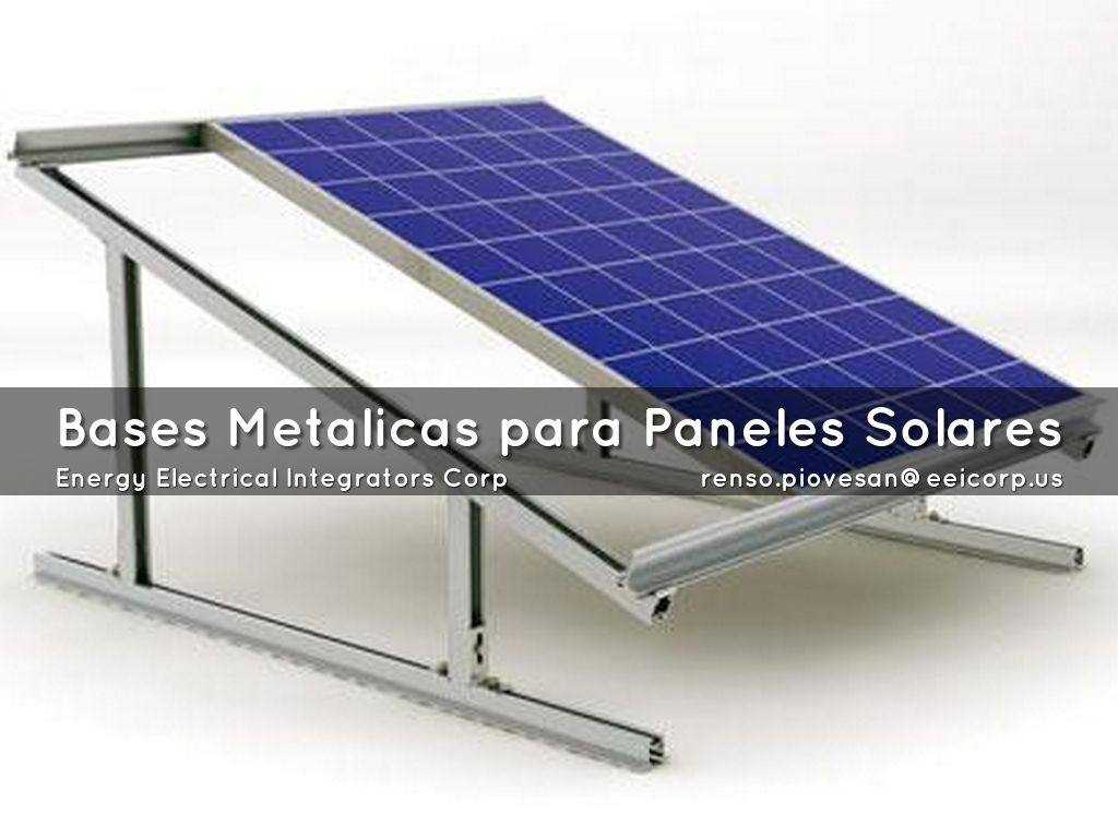 Solar electrical integrators latin america by p l - Estructuras metalicas para casas ...