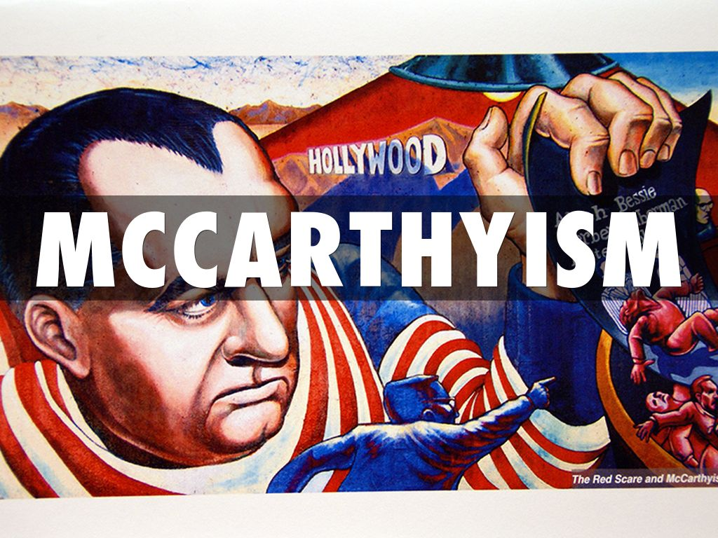 mccarthyism and the red scare essay Understanding similarities between mccarthyism and the crucible is the key to understanding symbolism in the play read on for an explanation of communist fear-mongering, as well as symbols in the play such as the doll, the boiling cauldron and others.