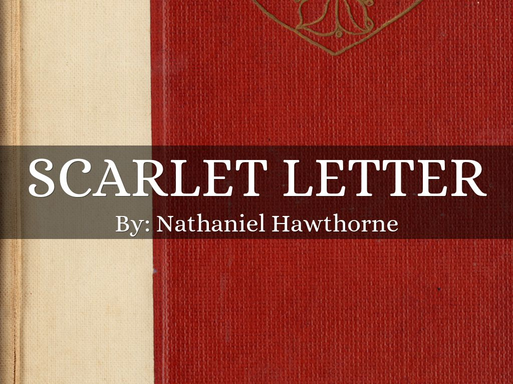 Scarlet letter by 2018buchp73 scarlet letter madrichimfo Images