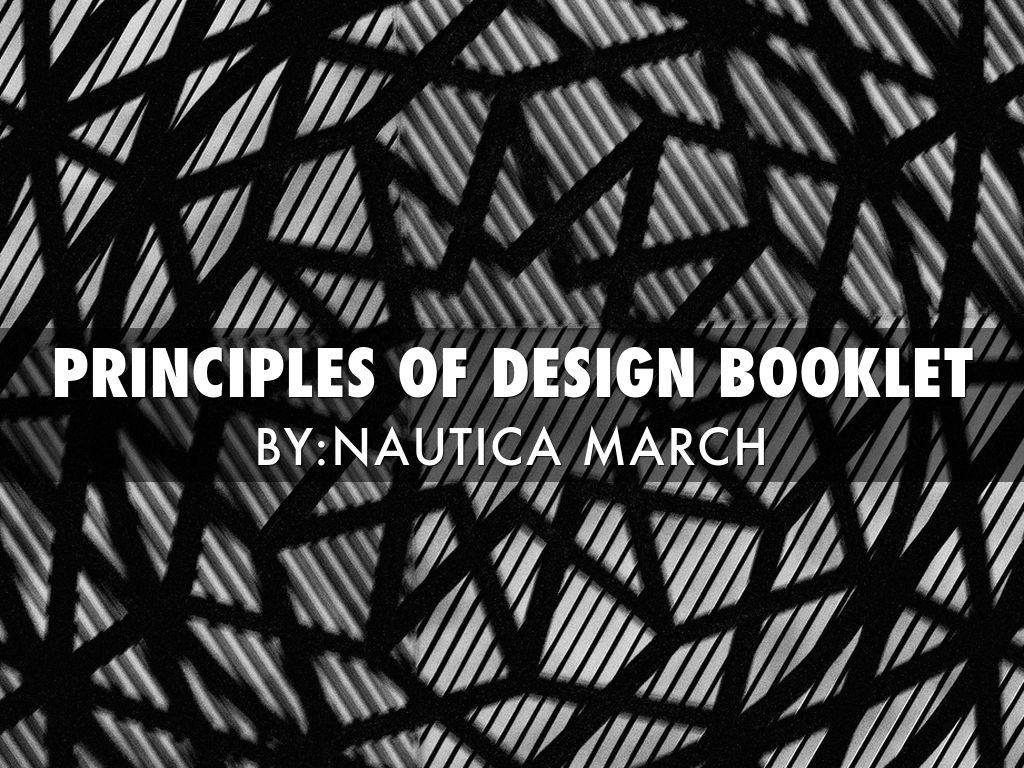 Principles Of Design Line : Principle of design booklet by nautica march