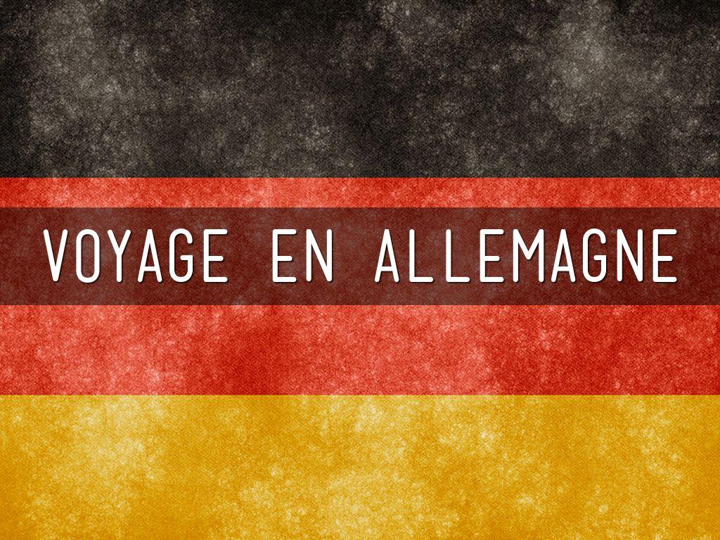 Voyage Échange Allemagne