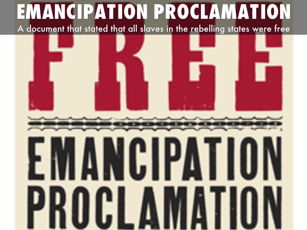 emancipation proclamation lincolns end of slavery Lincoln's emancipation proclamation: the end of slavery in  lincoln was swayed by the strategic value of proclaiming the emancipation of the slaves slavery was an.