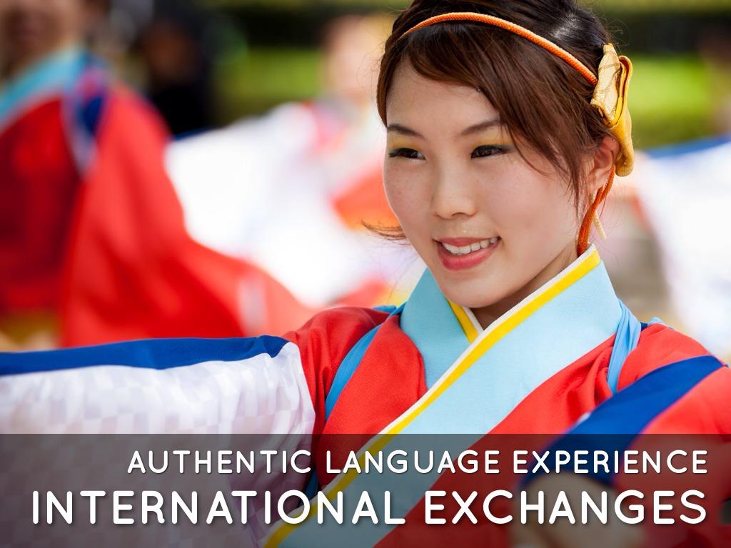 Copy of International Exchange