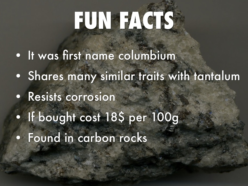 About Niobium >> Niobium By Katie Fetherolf