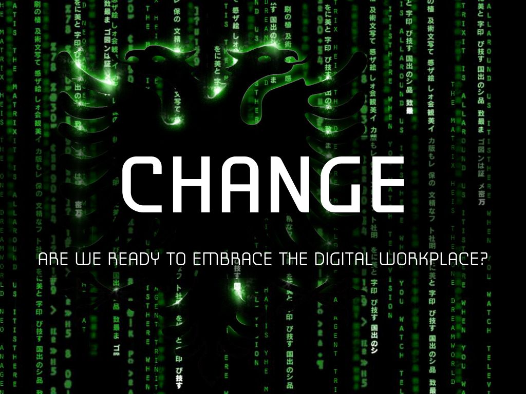 change and technology in the workplace