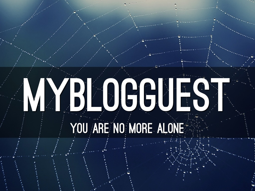 MyBlogGuest: You Are No More Alone by Ann Smarty