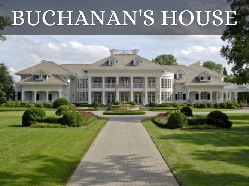 buchanans house - House From The Great Gatsby