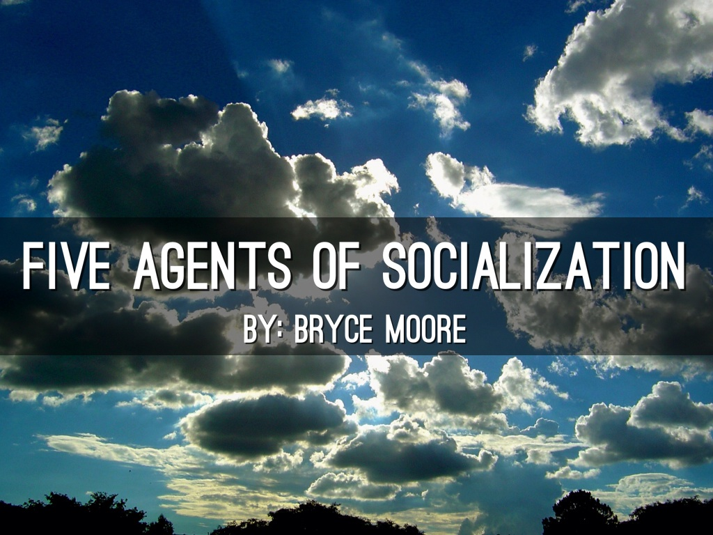 five agents of socialization that influences These are called agencies or agents of political socialisation some, like family, school, college, work the orientations influenced or determined by some agencies, like mass media, peer groups, etc, are the five national studies conducted by almond and verba found, without exception, that.
