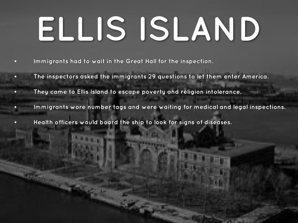 Ellis Island  A