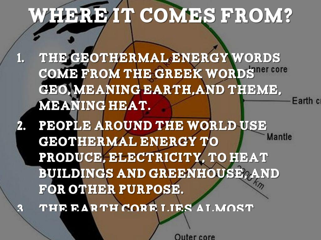 Geothermal Energy by Esteven Berbon
