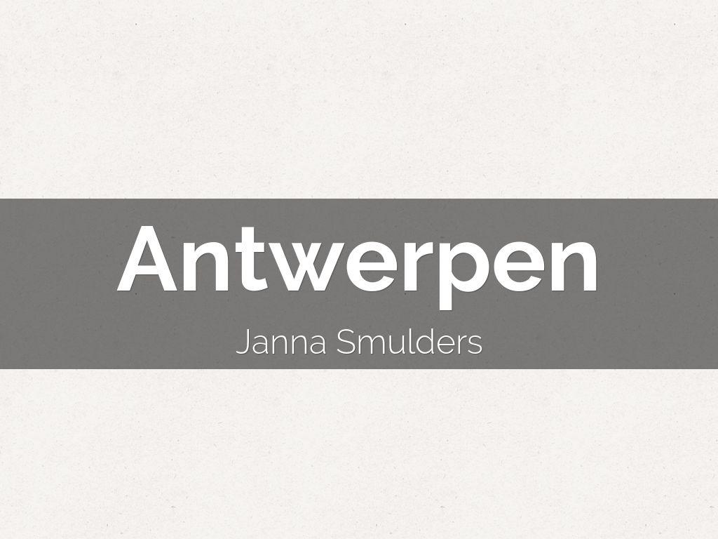 Antwerpen (E-learning)