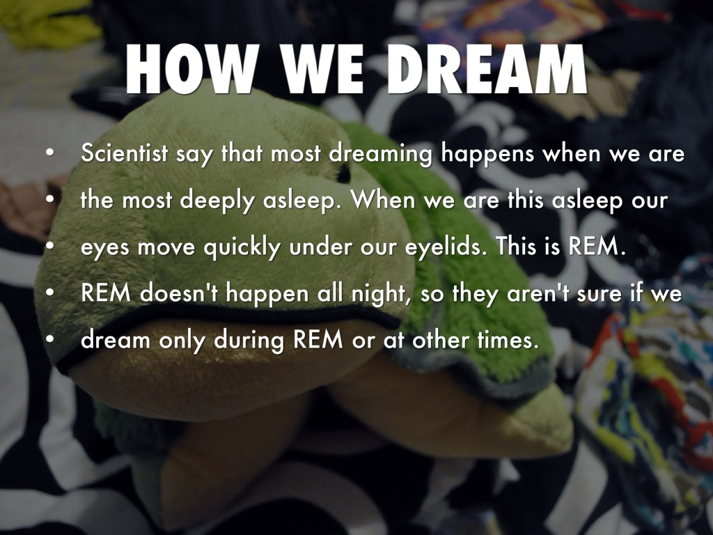 dream interpretation why we dream and how we dream Regardless, there are some extremely common dreams that we all keep having though most psychologists disagree with the current state of dream interpretation, people still choose to consult so .