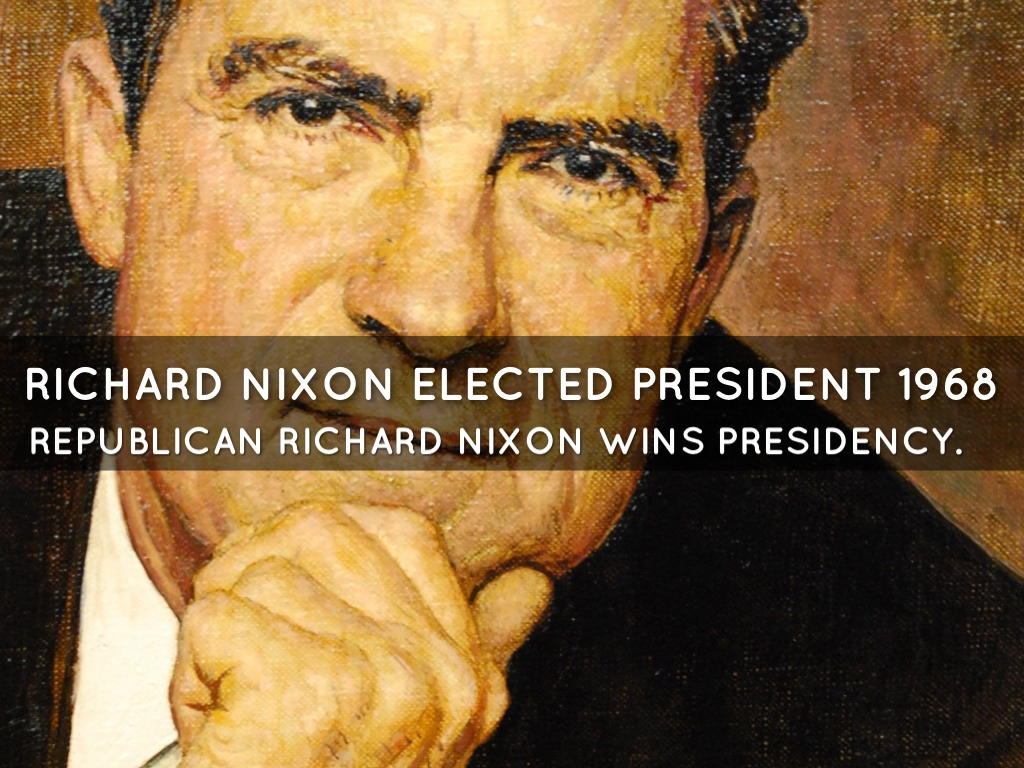 richard nixon presidency