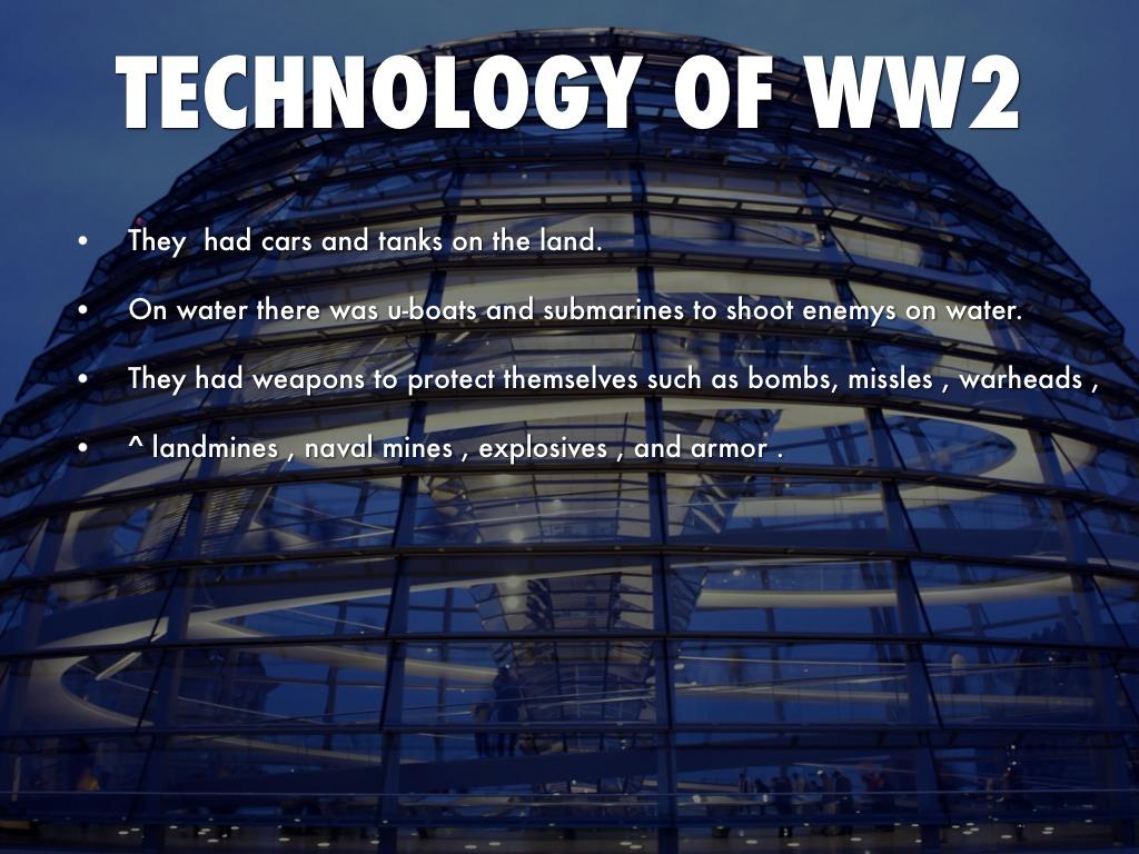 technology of ww2