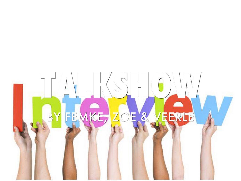 Talkshow Engels