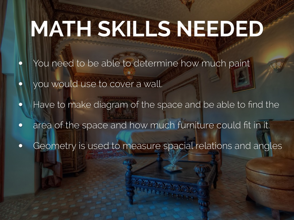 Skills Required To Be An Interior Designer