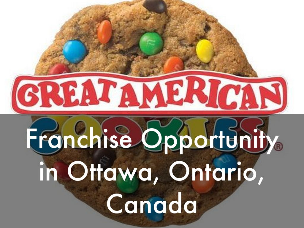Great American Cookies Opportunity in Ottawa, Ontario