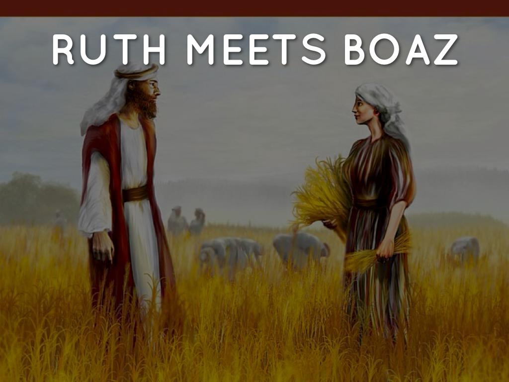 ruth and boaz meet