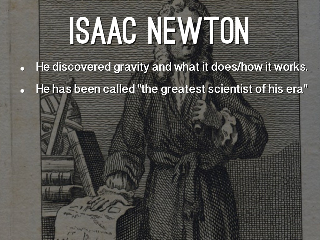 what did isaac newton discover