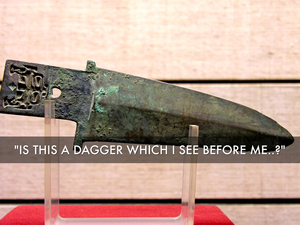 is this a dagger which i see before me