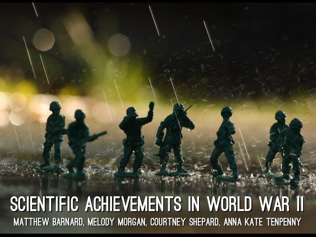 world war ii and greatest scientific The most deadly war in terms of human life was world war ii  here are ten of the deadliest wars in human history 1 world war ii  and scientific capabilities.