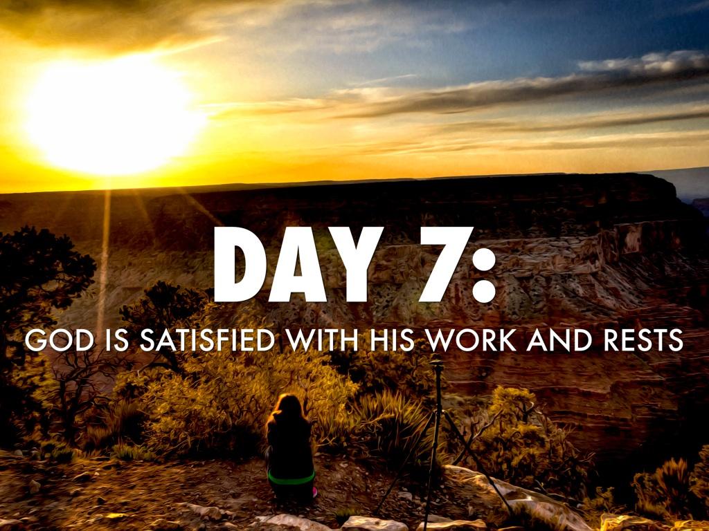 Seven Days Of Creation by William Fransen