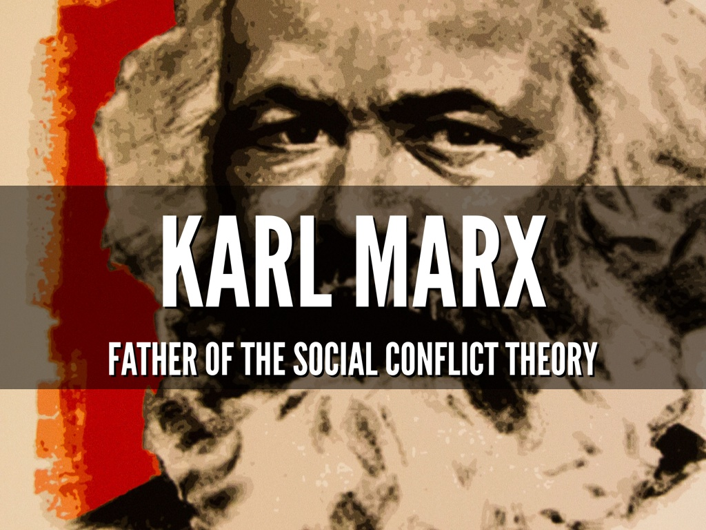 conflict theory by karl marx Karl marx's theory of class conflict psychology 105: research methods in psychology social conflict theory sees social life as a competition and focuses on the distribution of resources.