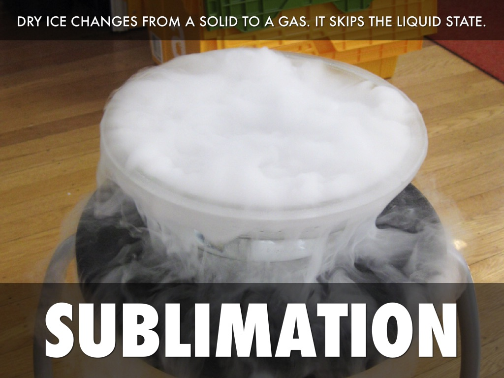 the physicalc description of dry ice essay