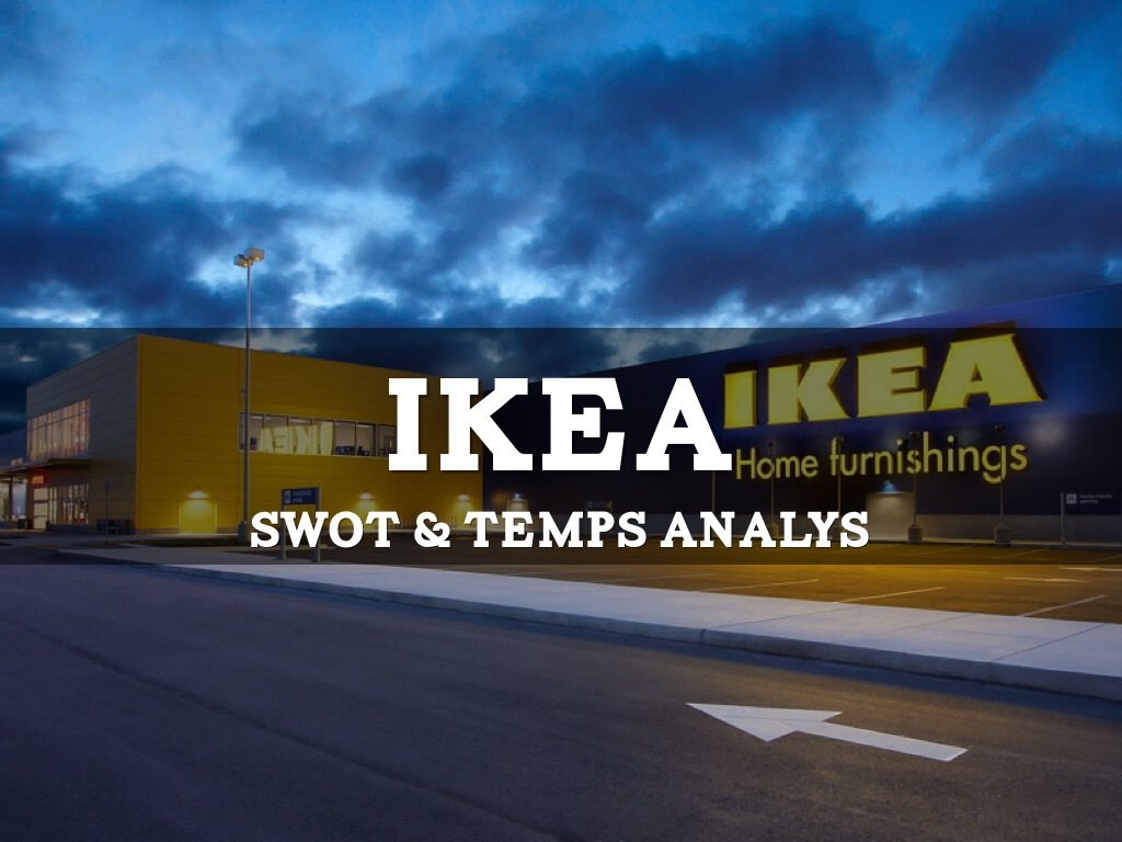 ikea swot Swot analysis a swot analysis is a scan of your company, focusing on internal factors (strengths and weaknesses) and external factors swot analysis for ikea.