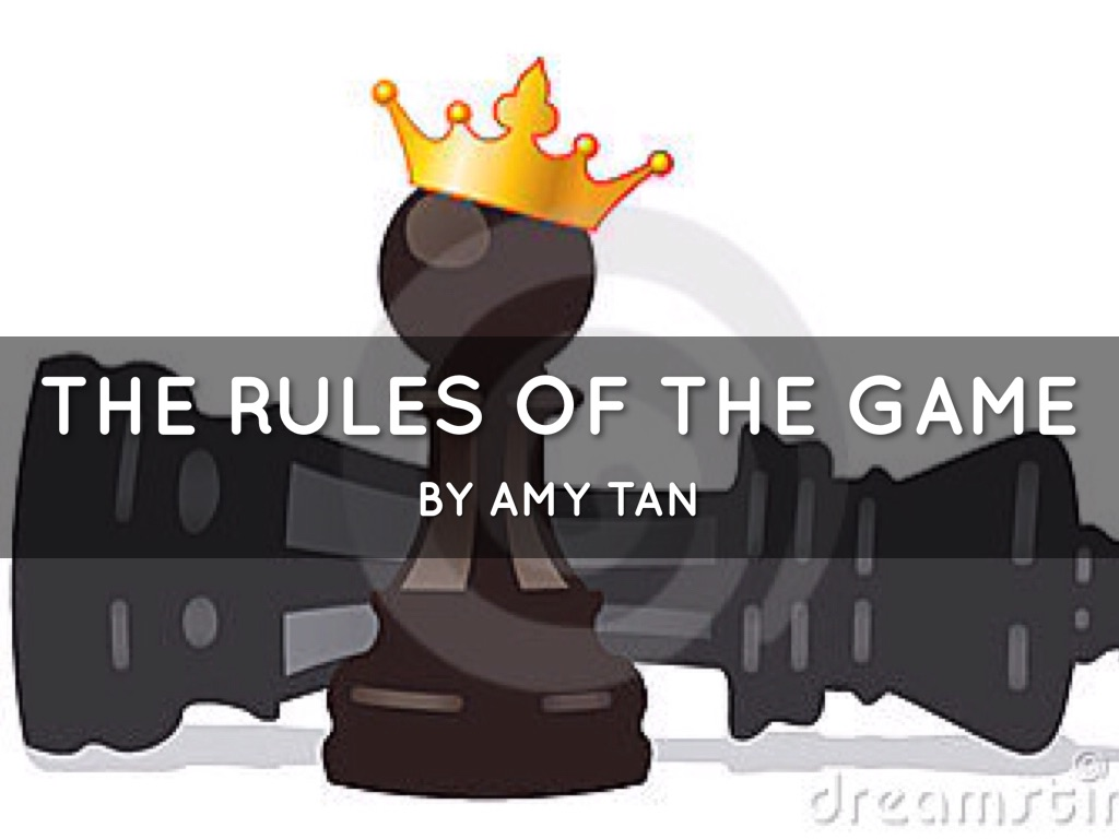 rules of the game amy tan Website for ios game rules by marcel-andré casasola merkle, published by thecodingmonkeys, art direction: agnes lison.