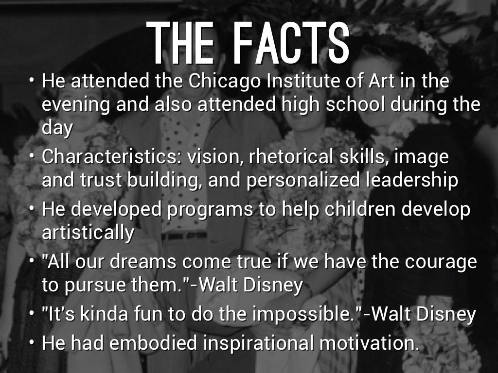 Walt Disney By Jackson Rogers