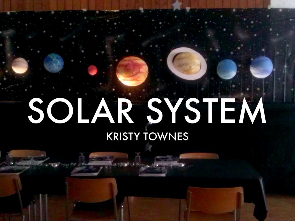 the solar system by kristy townes