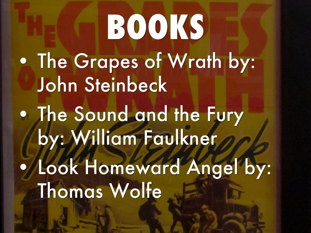 an analysis of the grapes of wrath by john steinback