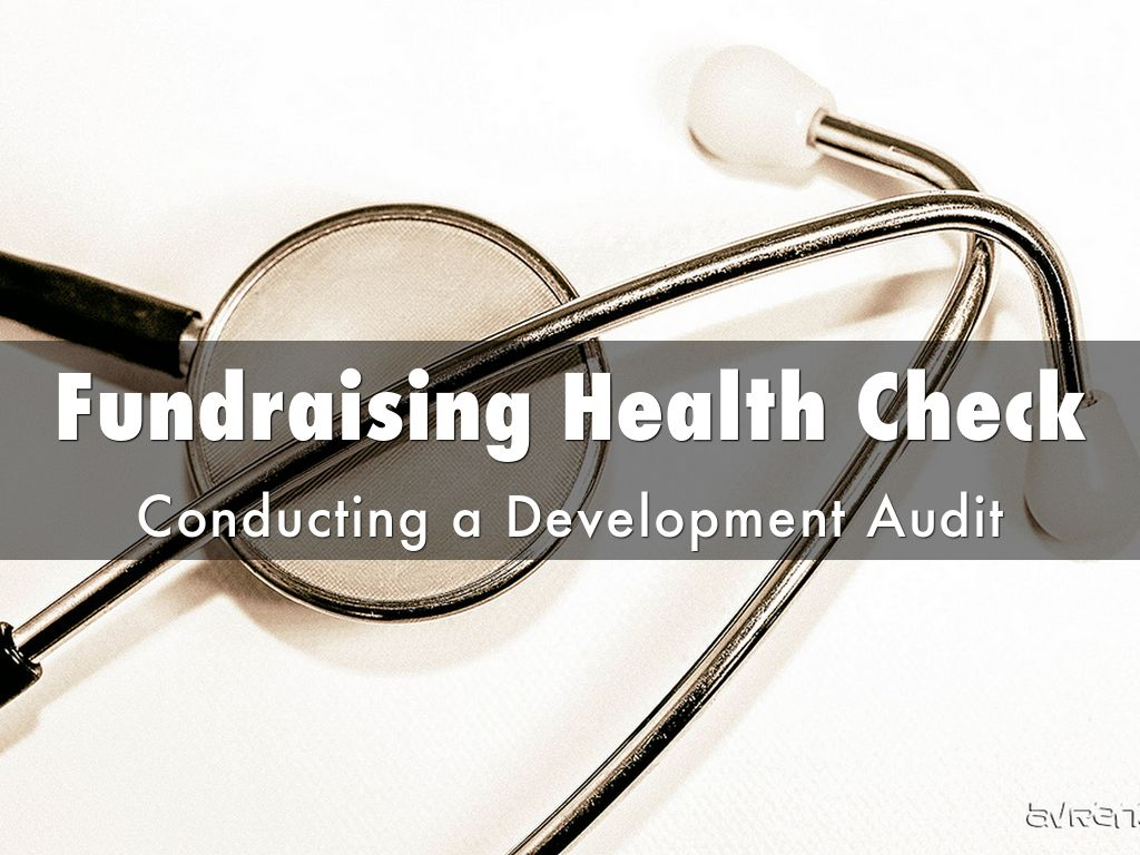Copia de Fundraising Health Check: Conducting a Development Audit