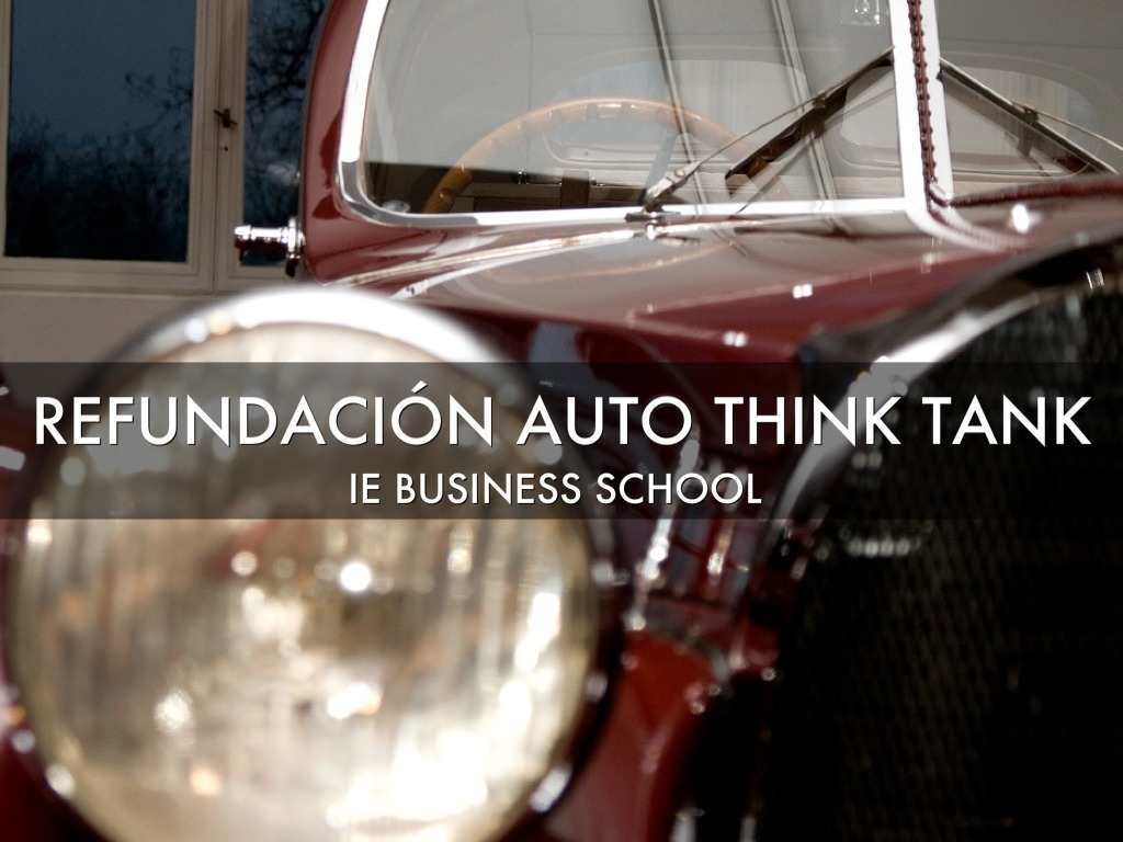 Refundación Auto Think Tank
