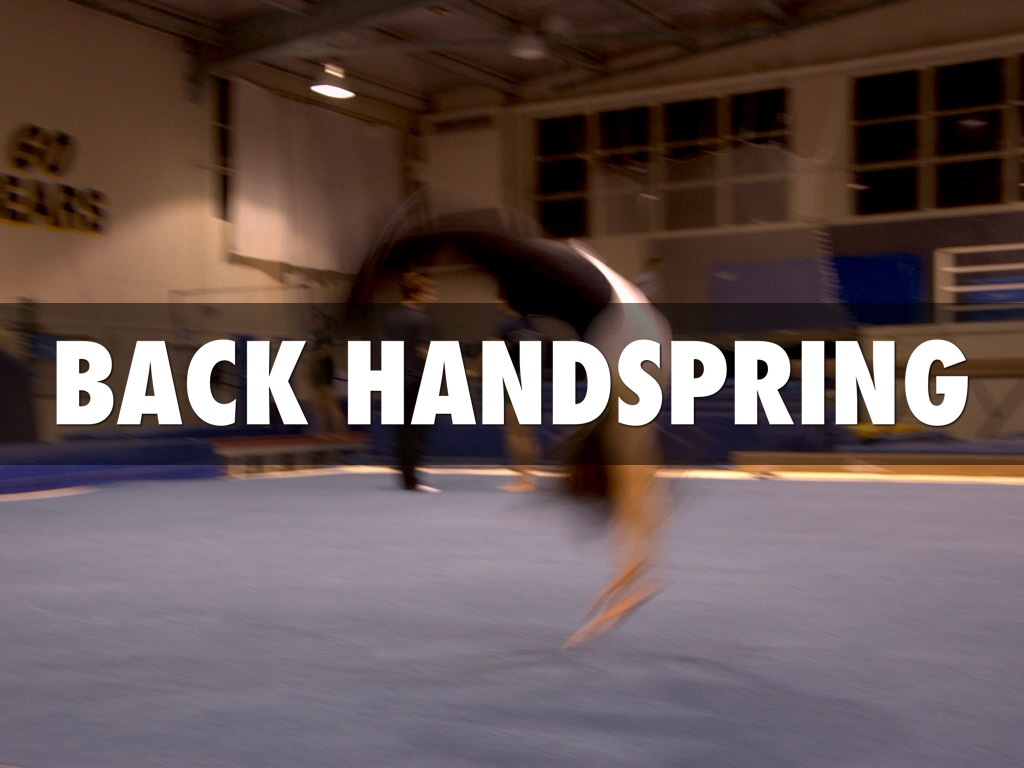 Back handspring FAIL!!!! - YouTube