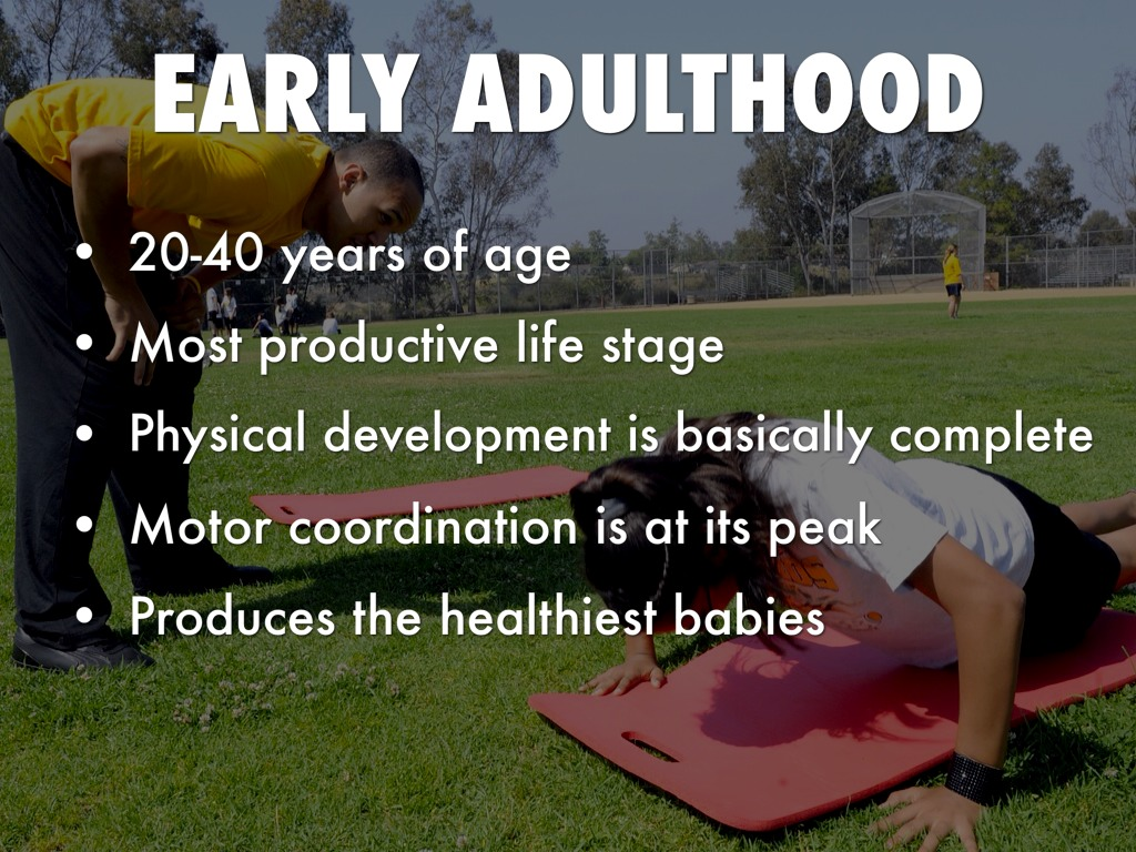 Physical Development In Early Adulthood by Sydnie Marsh