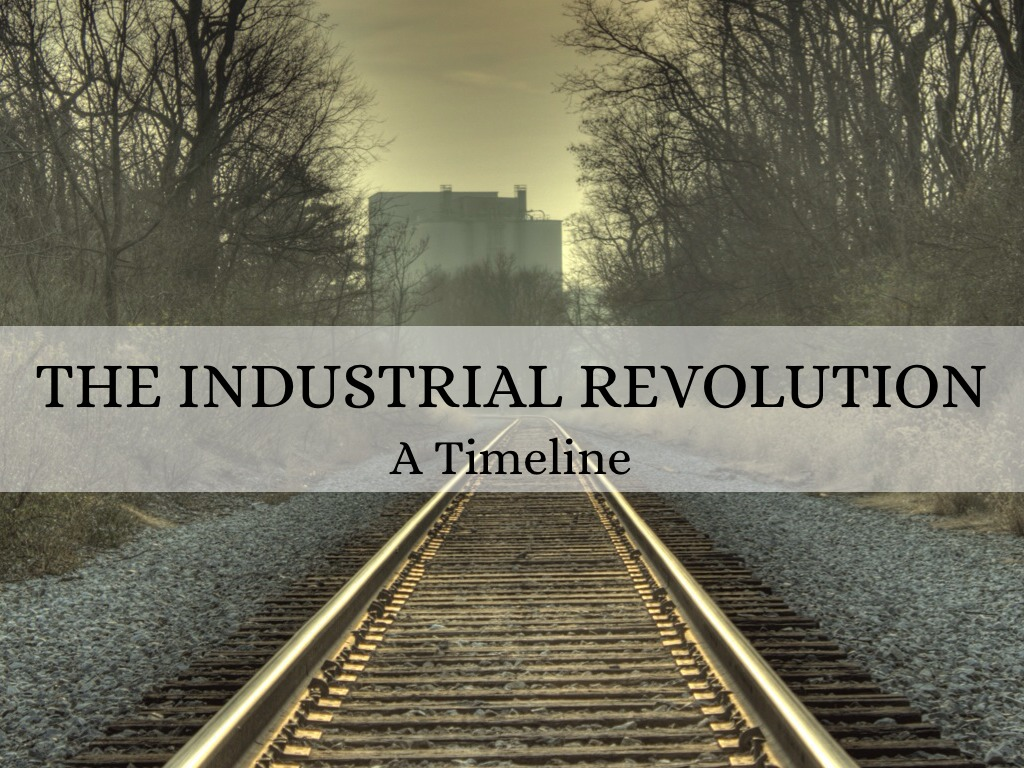 Industrial revolution dates