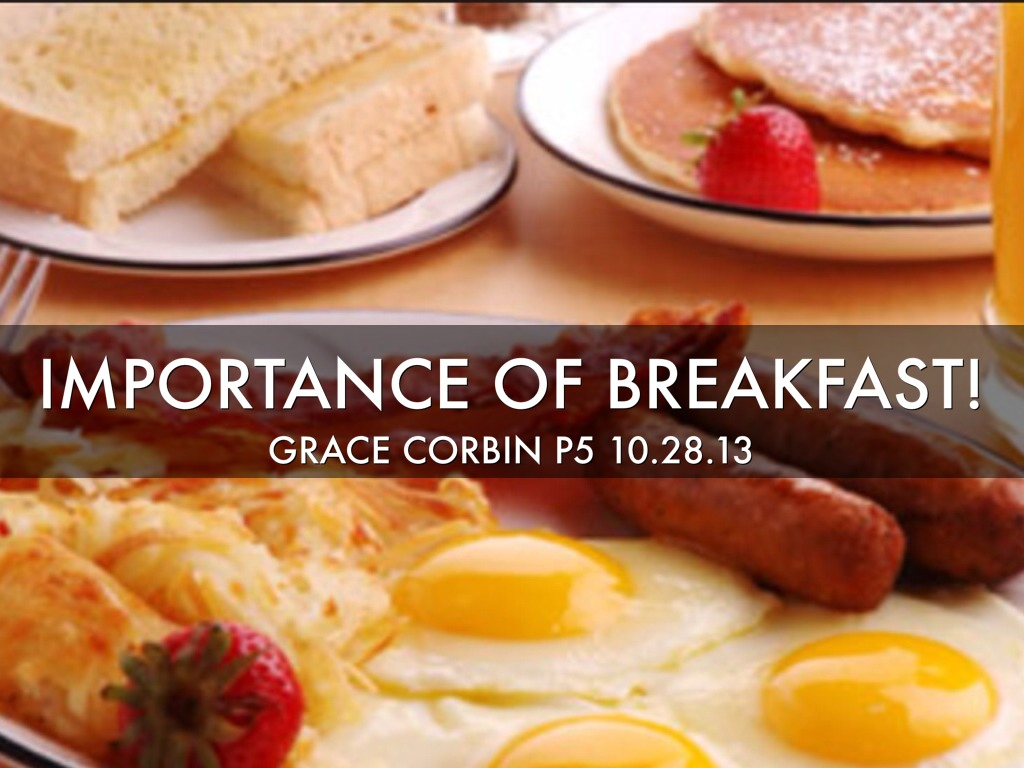 the importance of breakfast The importance of breakfast is often lost on kids and teens learn why breakfast matters for kids and teens and how to help them start the day right.