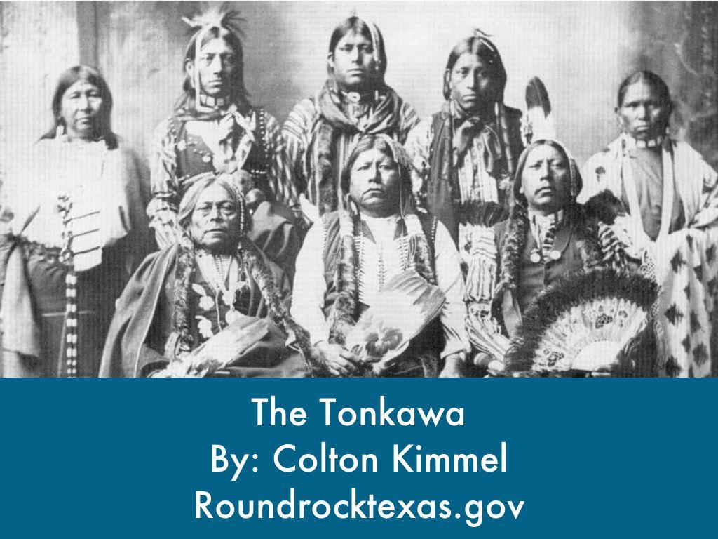 Tonkawa Tribe by Wendi Kimmel