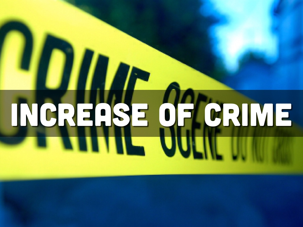 increasing crimes Increasing rate of population is also the reason for the increasing rate of crime among the world, like the scarcity and imbalance of the resources among the population the poor rate of literacy which also instigate the tendency to commit crime and gain profits.