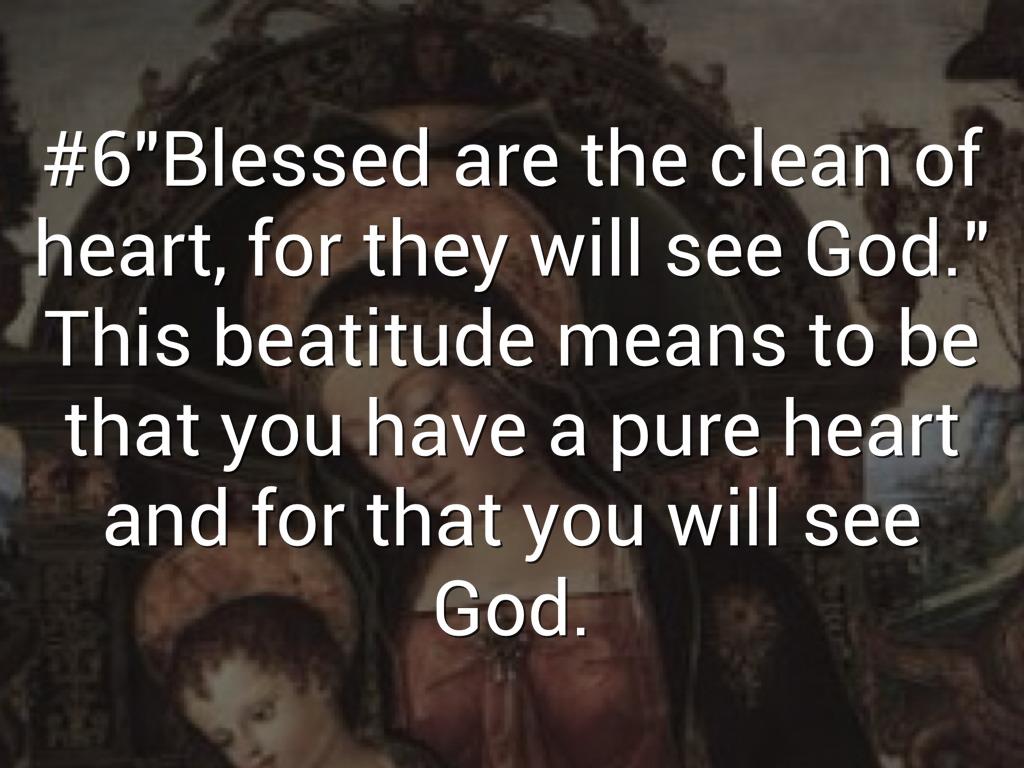 The Beatitudes by Alina Aldana