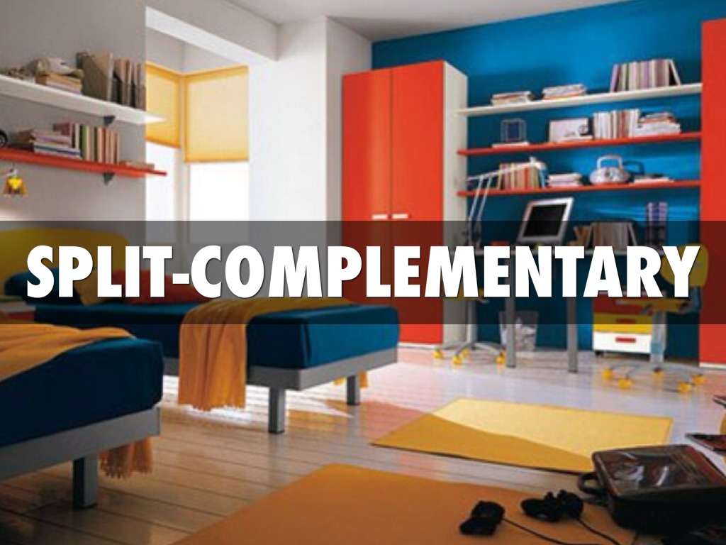 Complementary Colors Interior Design split complementary room - home design